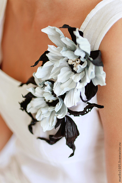 цветы из шелка